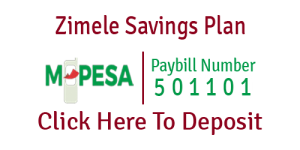 Mpesa Zimele Savings Plan
